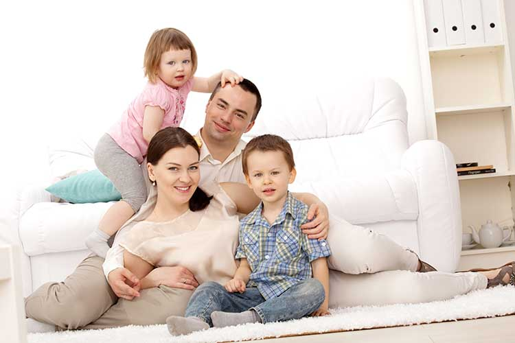 A family guarantee for a home purchase